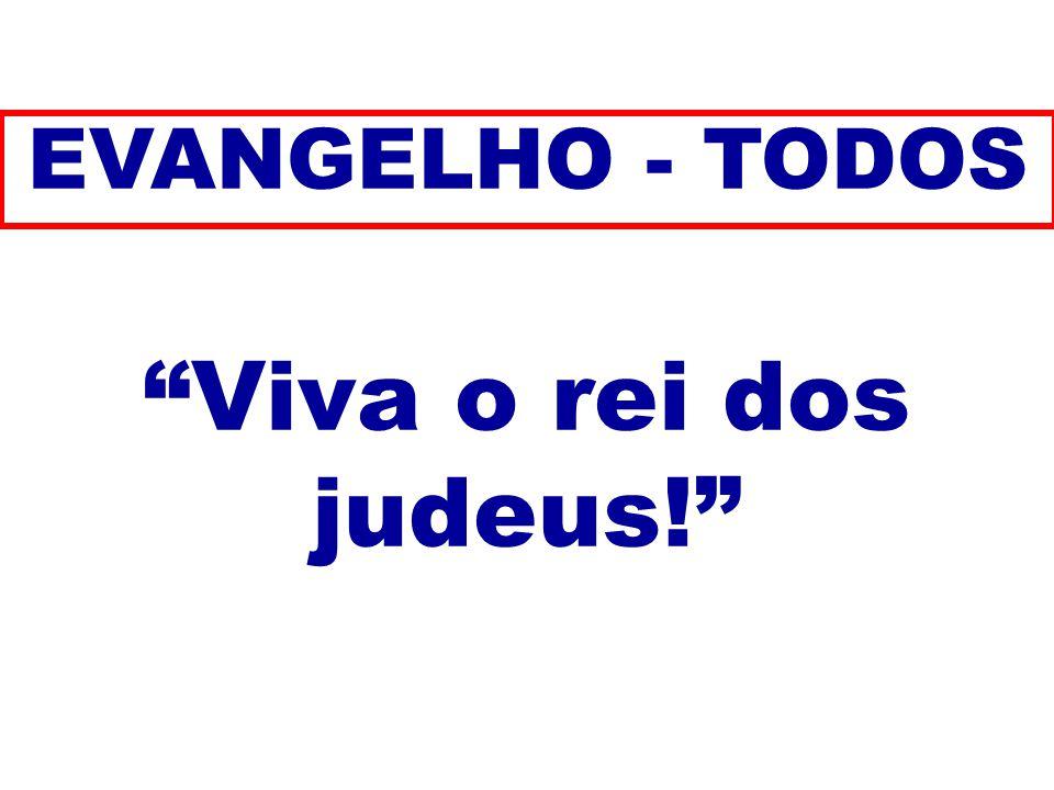 EVANGELHO - TODOS Viva o rei dos judeus! 183