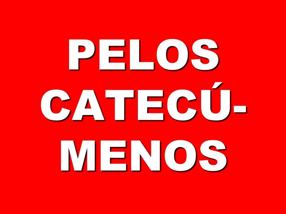 PELOS CATECÚ-MENOS