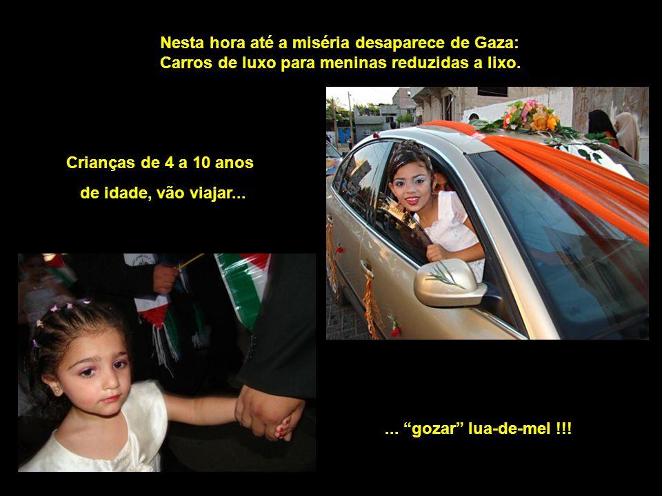 Nesta hora até a miséria desaparece de Gaza: