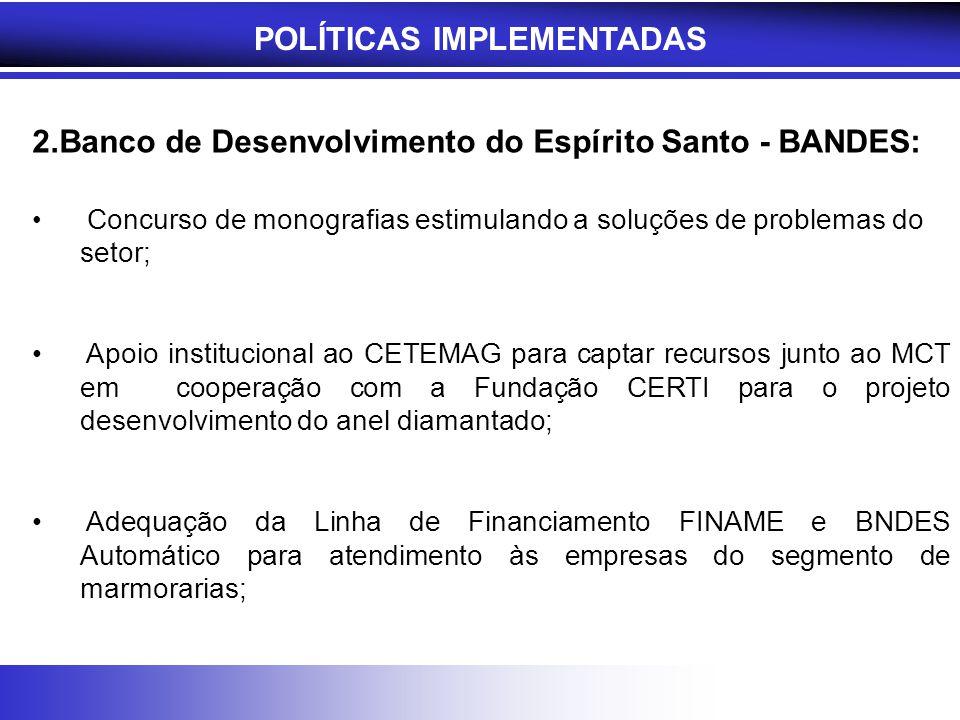 POLÍTICAS IMPLEMENTADAS