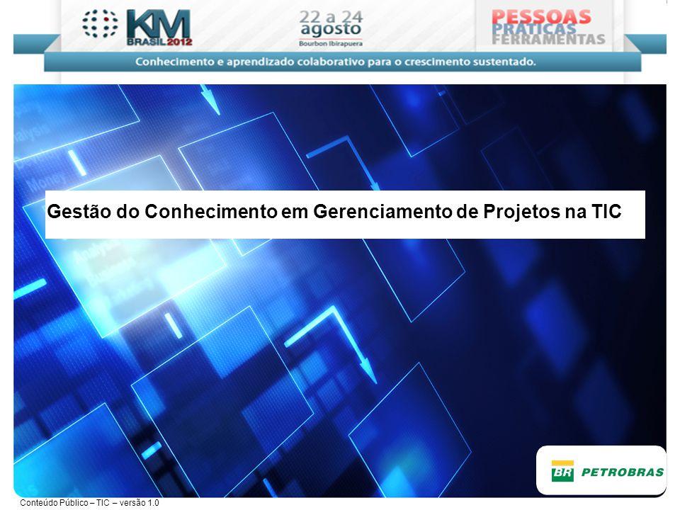 Gestão do Conhecimento em Gerenciamento de Projetos na TIC