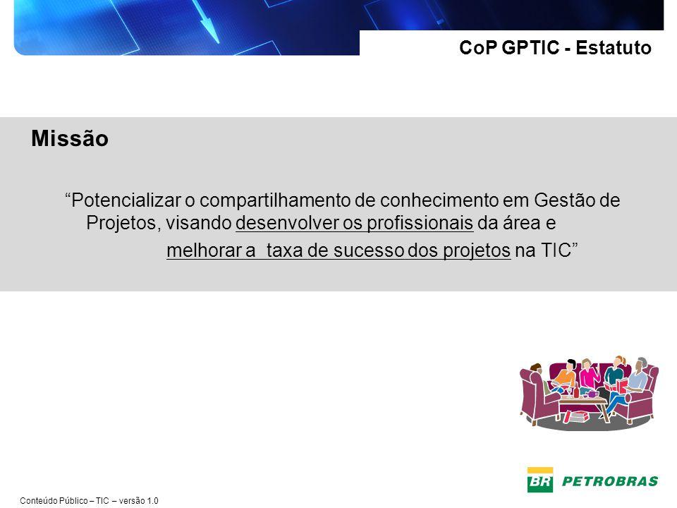 Missão CoP GPTIC - Estatuto