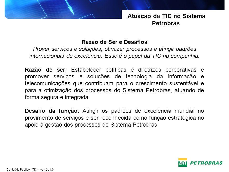 Atuação da TIC no Sistema Petrobras