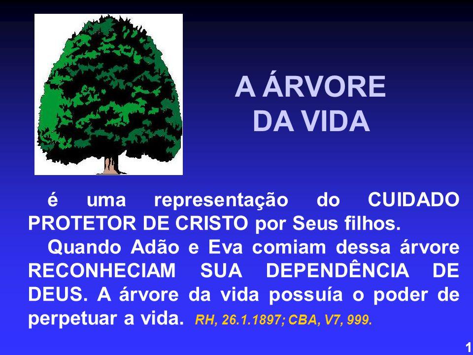 A ÁRVORE DA VIDA. é uma representação do CUIDADO PROTETOR DE CRISTO por Seus filhos.