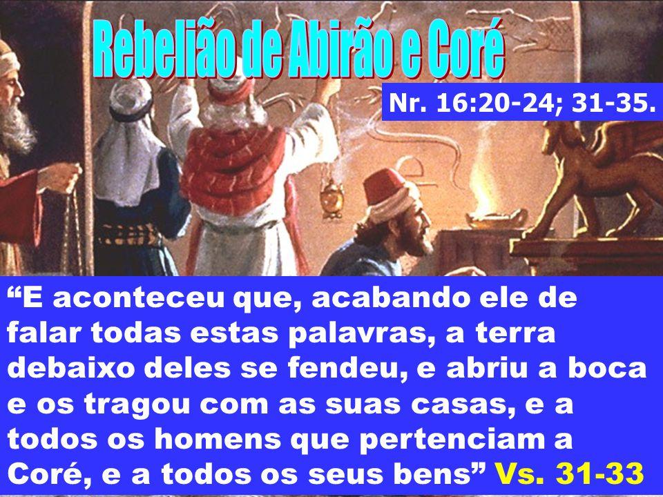 Rebelião de Abirão e Coré