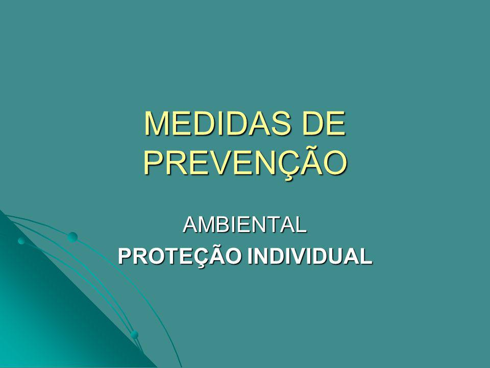 AMBIENTAL PROTEÇÃO INDIVIDUAL