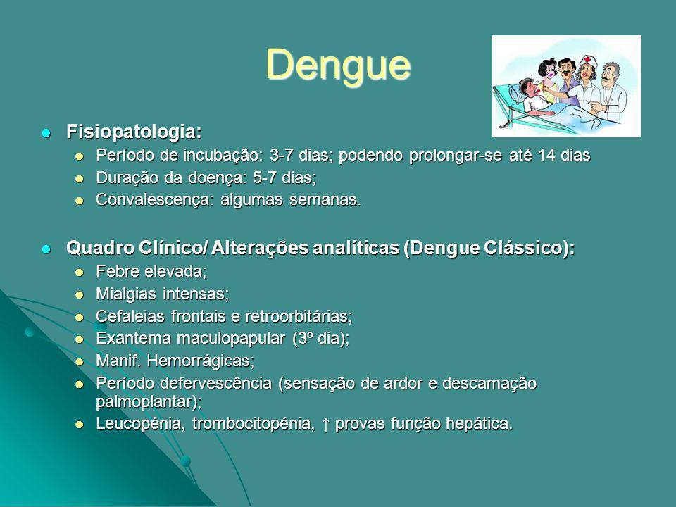 Dengue Fisiopatologia: