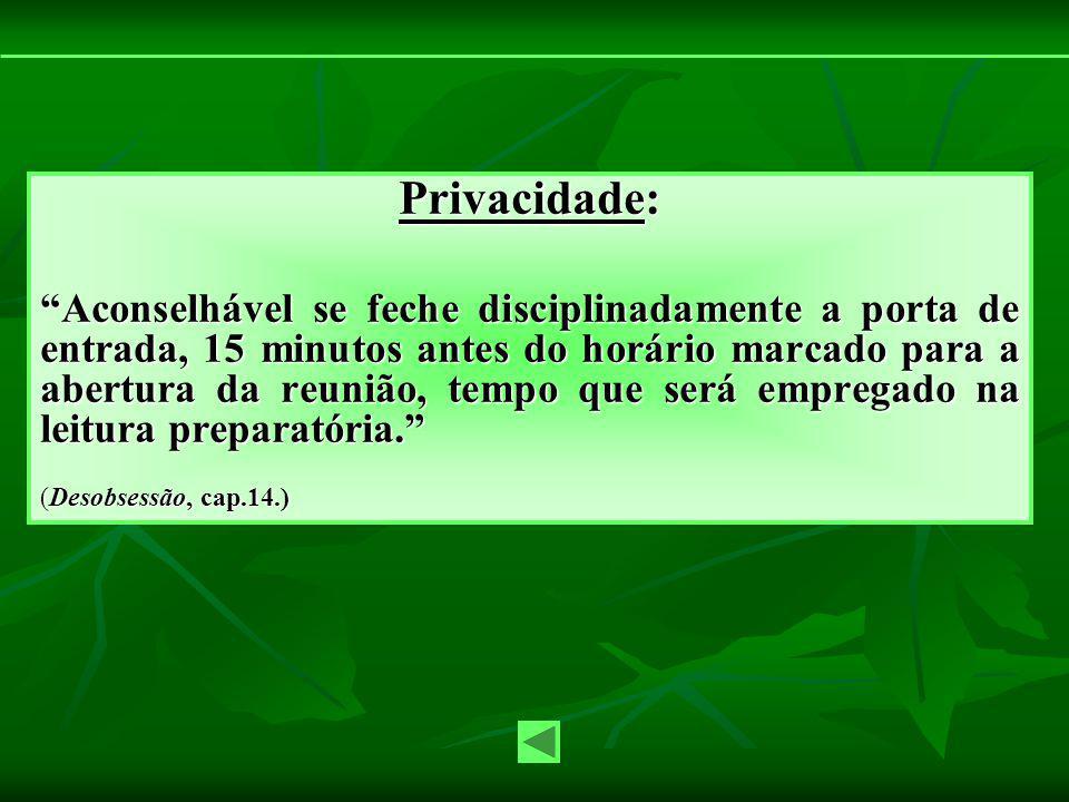 Privacidade: