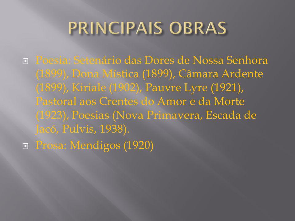 PRINCIPAIS OBRAS