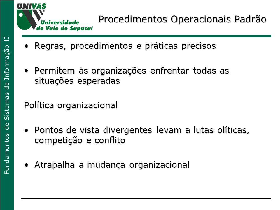 Procedimentos Operacionais Padrão