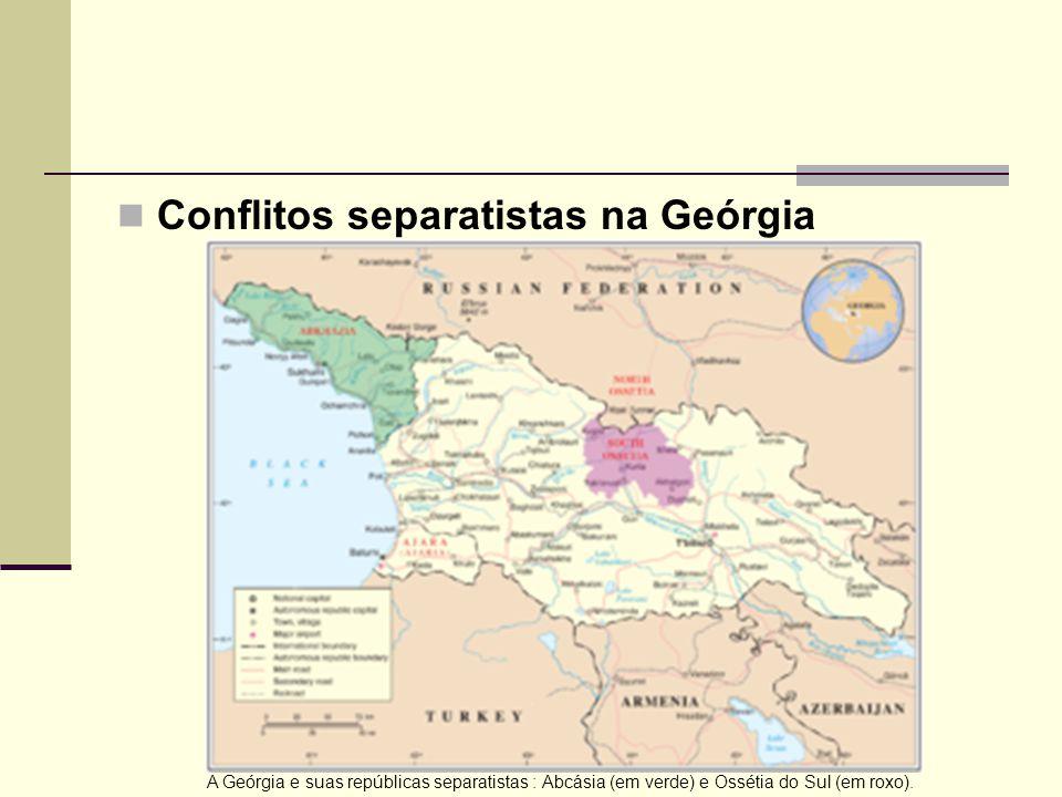 Conflitos separatistas na Geórgia