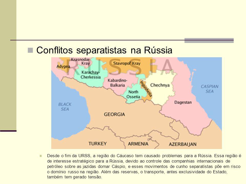 Conflitos separatistas na Rússia
