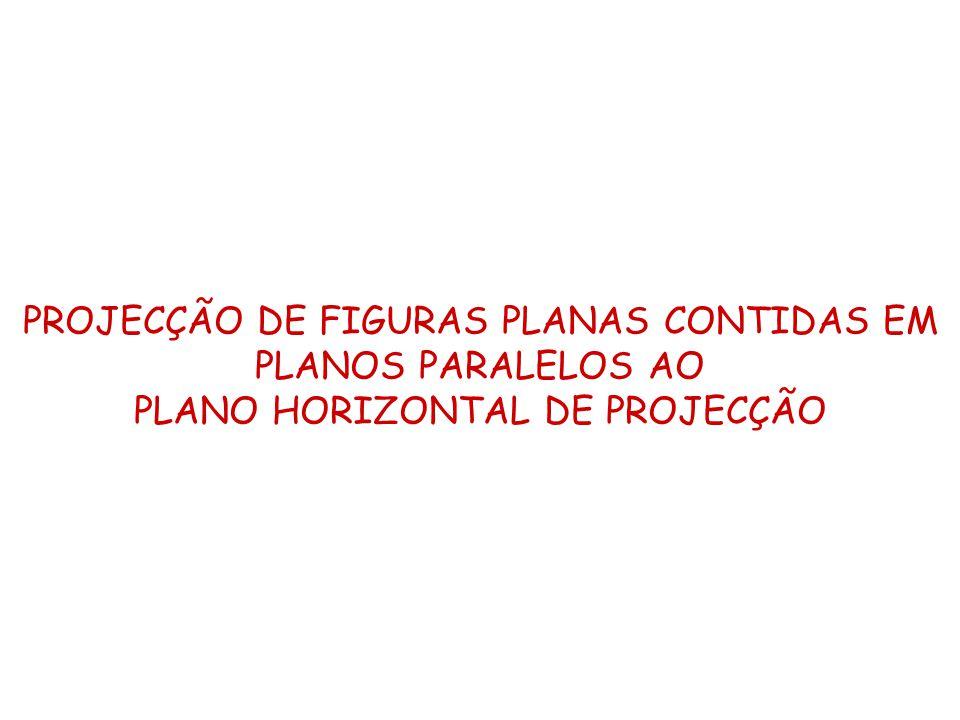PROJECÇÃO DE FIGURAS PLANAS CONTIDAS EM PLANOS PARALELOS AO