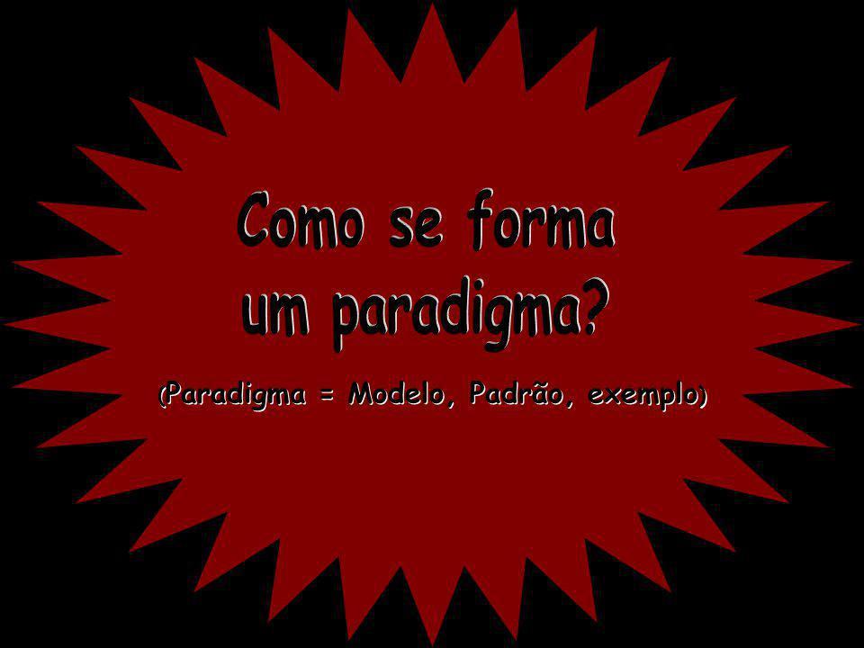 Como se forma um paradigma