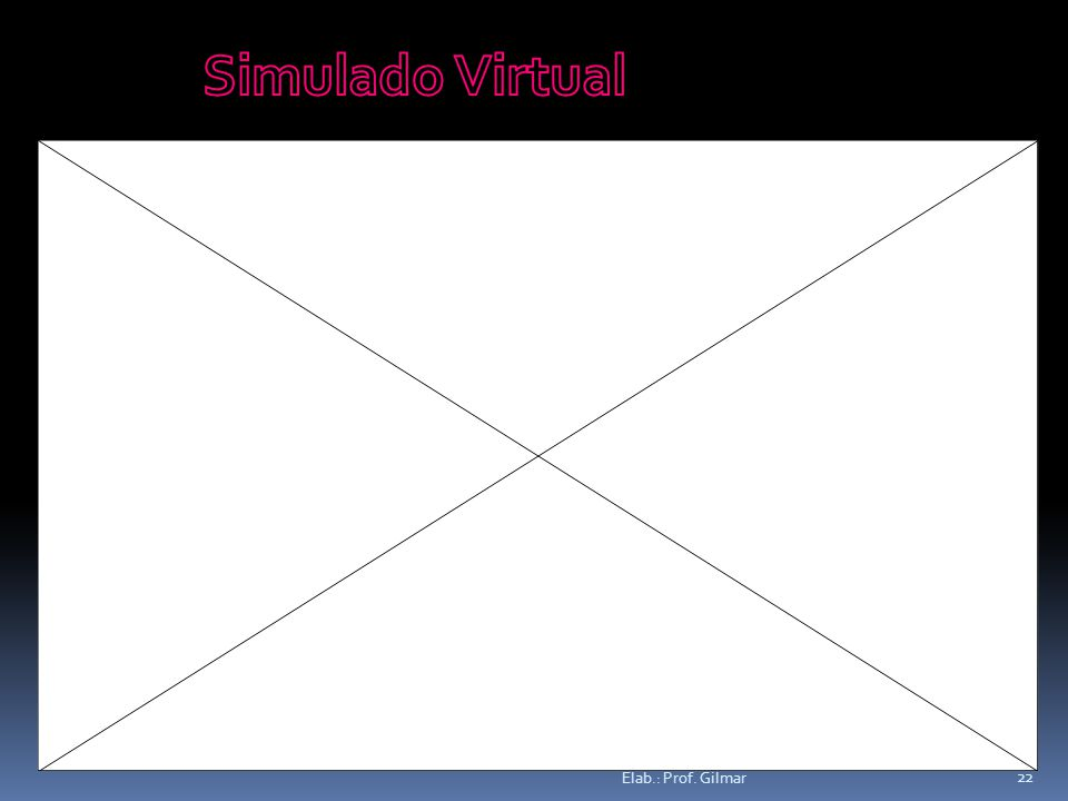 Simulado Virtual Elab.: Prof. Gilmar