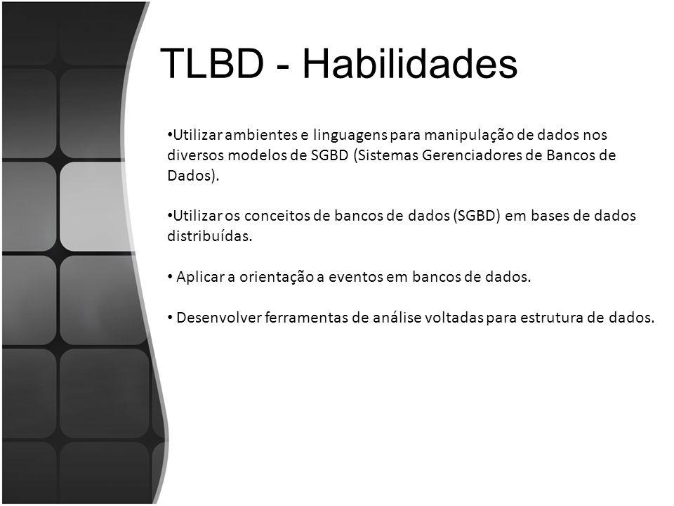 TLBD - Habilidades