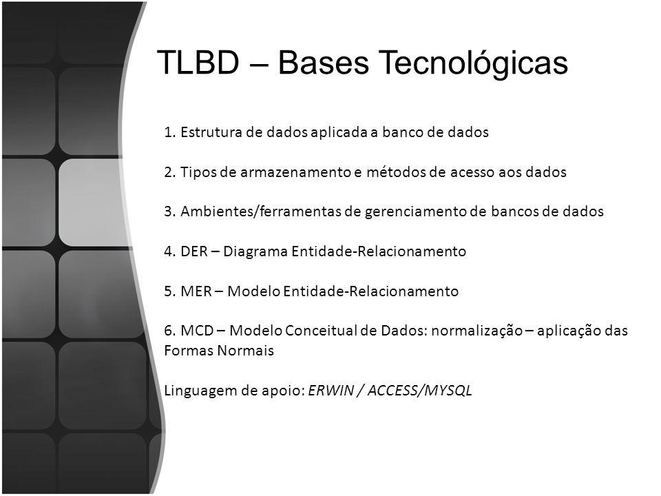 TLBD – Bases Tecnológicas