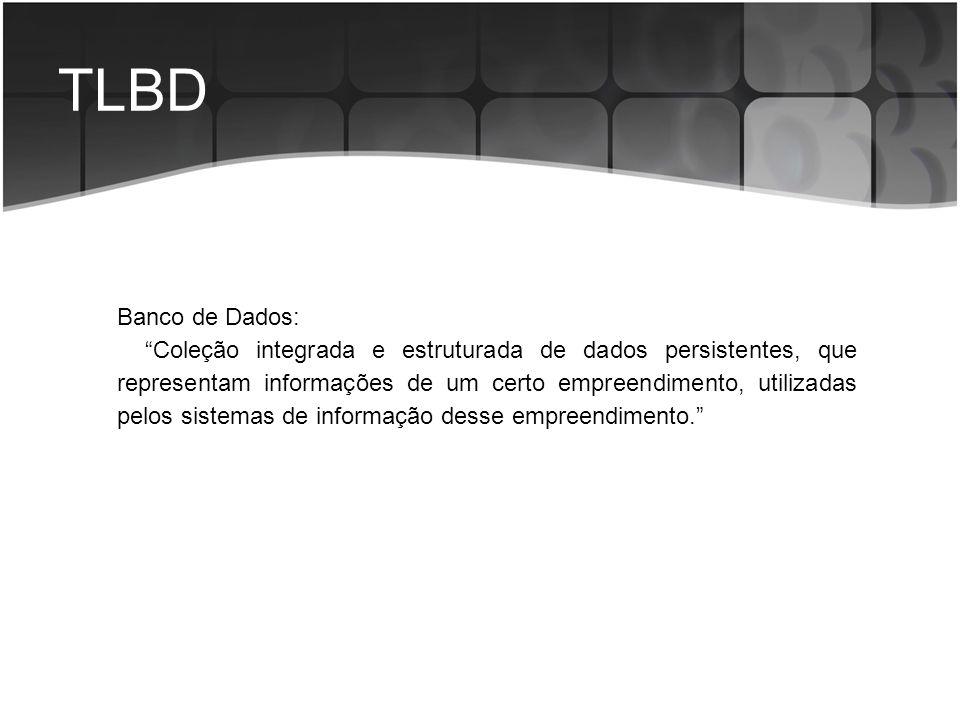 TLBD Banco de Dados: