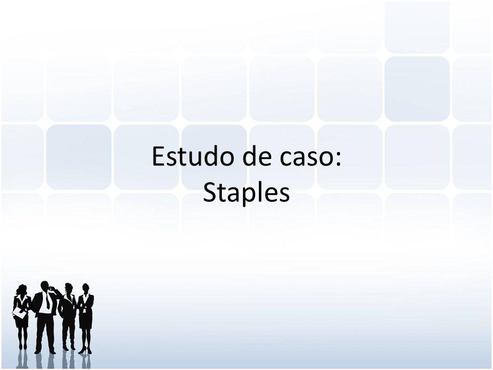 Estudo de caso: Staples