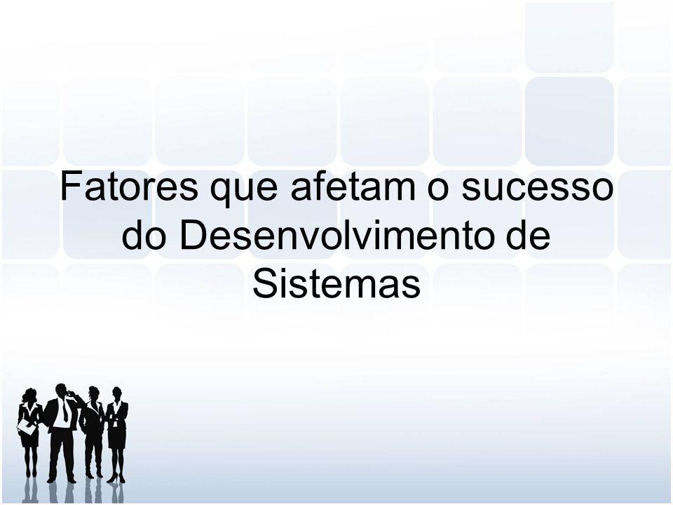 Fatores que afetam o sucesso do Desenvolvimento de Sistemas