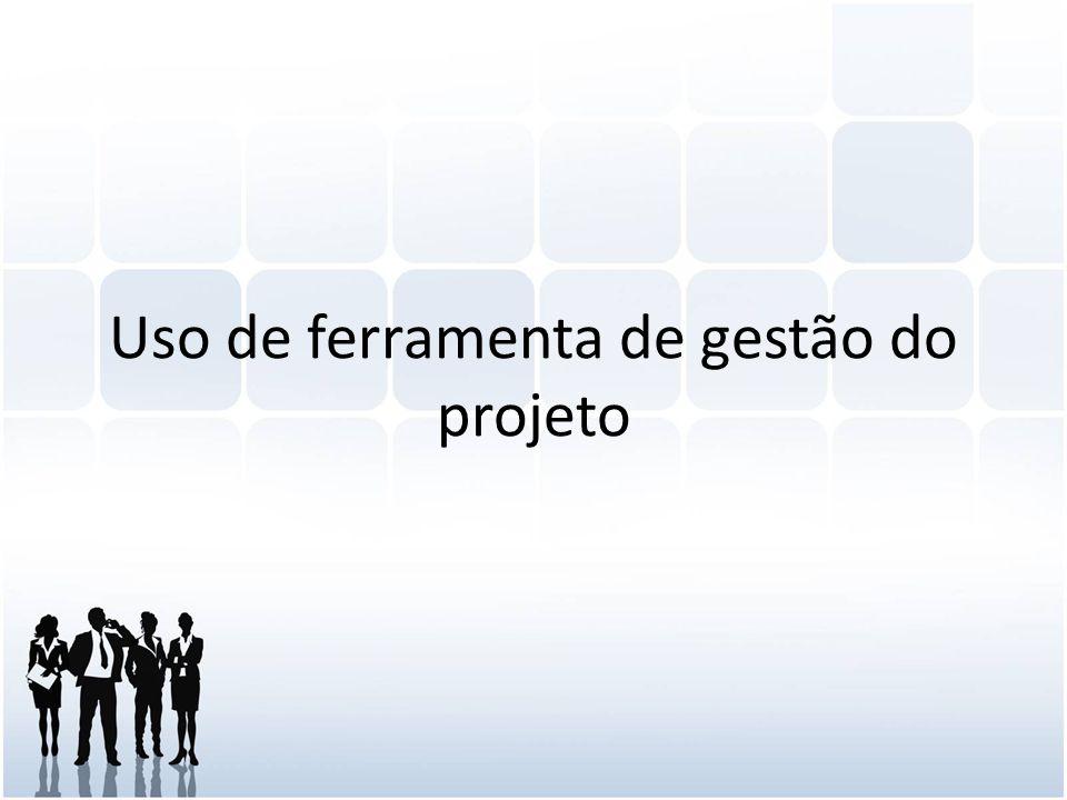 Uso de ferramenta de gestão do projeto