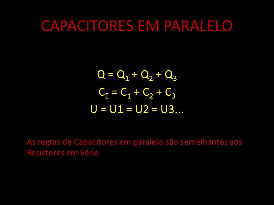 CAPACITORES EM PARALELO