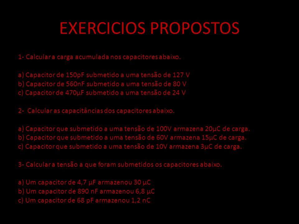 EXERCICIOS PROPOSTOS