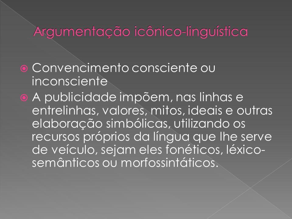 Argumentação icônico-linguística