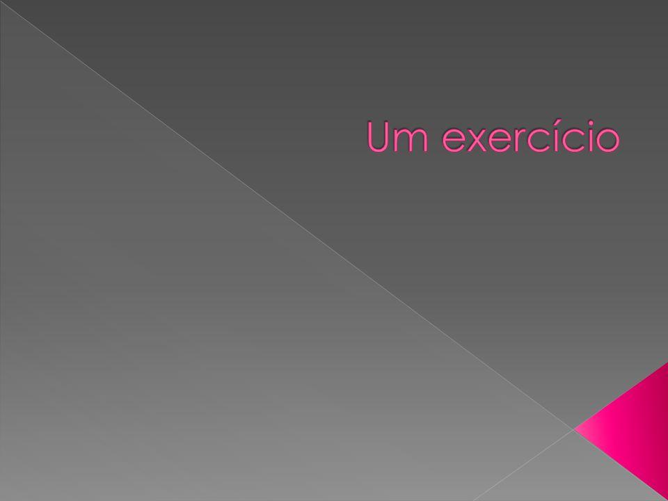 Um exercício