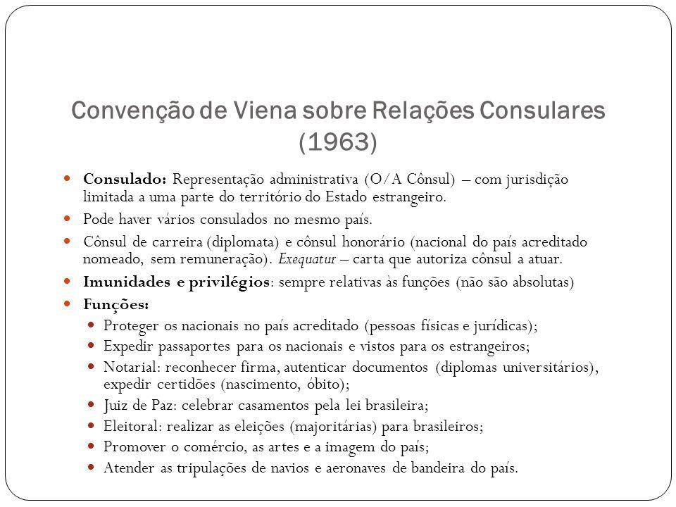 Convenção de Viena sobre Relações Consulares (1963)