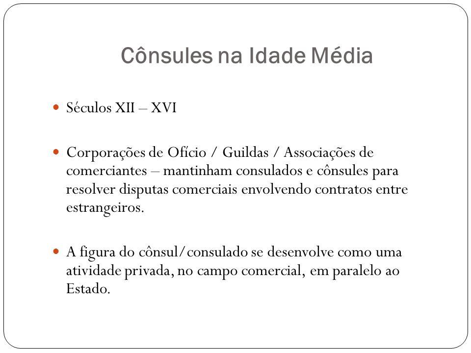 Cônsules na Idade Média