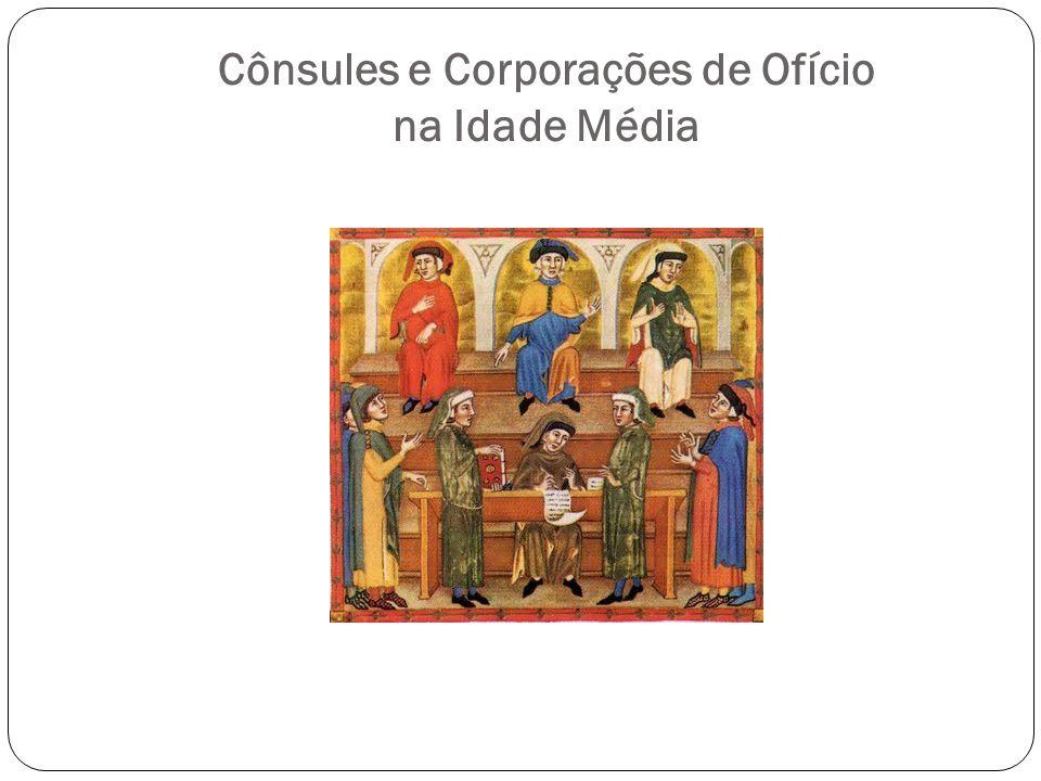 Cônsules e Corporações de Ofício na Idade Média