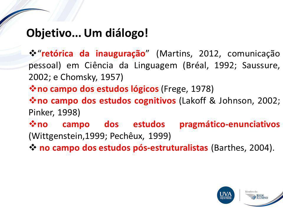Objetivo... Um diálogo!