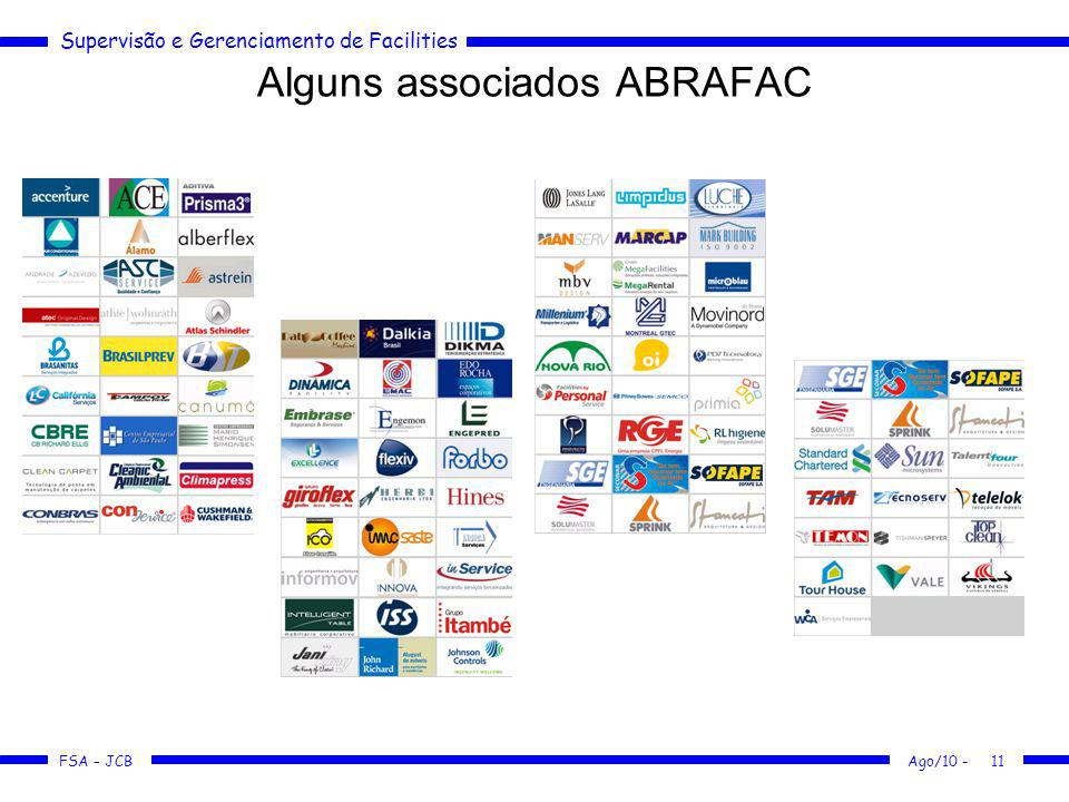 Alguns associados ABRAFAC