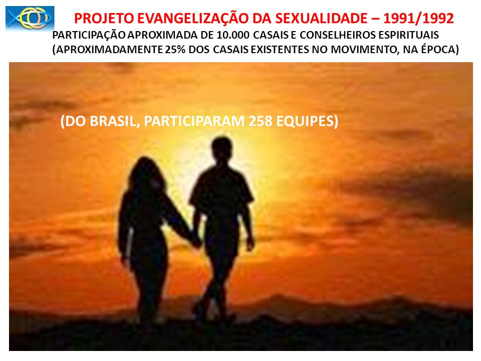 (APROXIMADAMENTE 25% DOS CASAIS EXISTENTES NO MOVIMENTO, NA ÉPOCA)