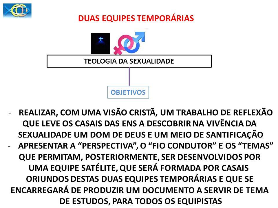 DUAS EQUIPES TEMPORÁRIAS