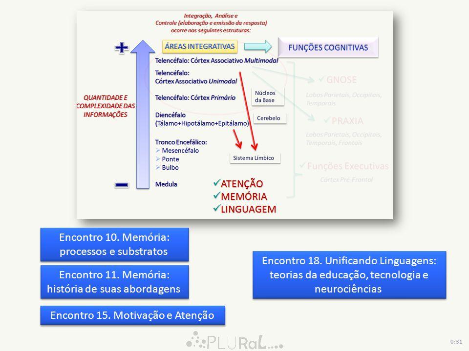 Encontro 10. Memória: processos e substratos