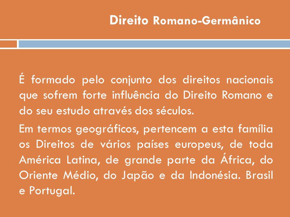 Direito Romano-Germânico
