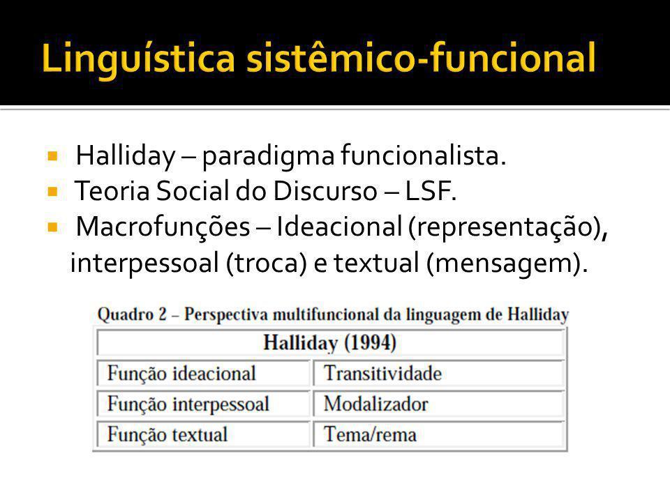 Linguística sistêmico-funcional