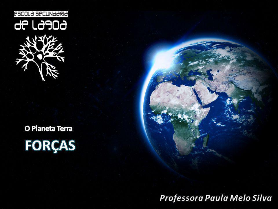 O Planeta Terra forças Professora Paula Melo Silva