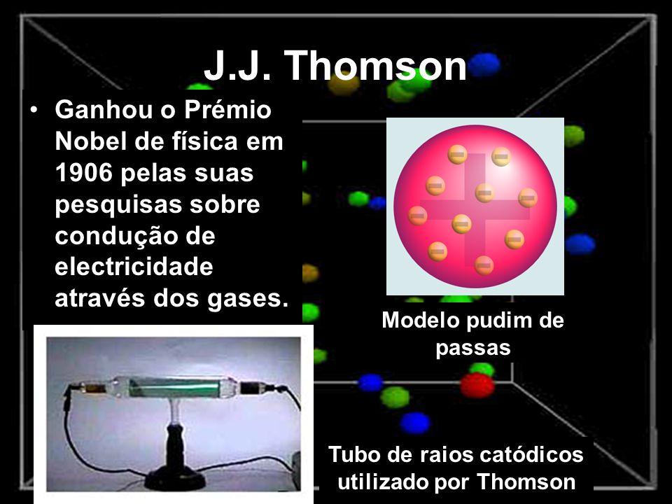 Tubo de raios catódicos utilizado por Thomson
