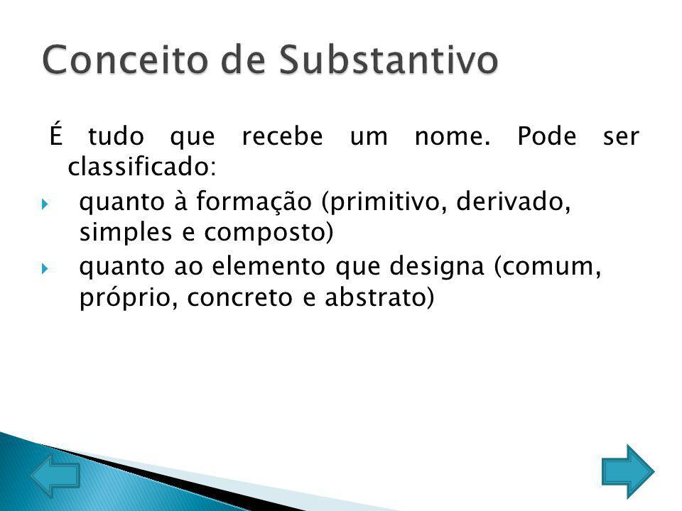 Substantivo concreto ou abstrato