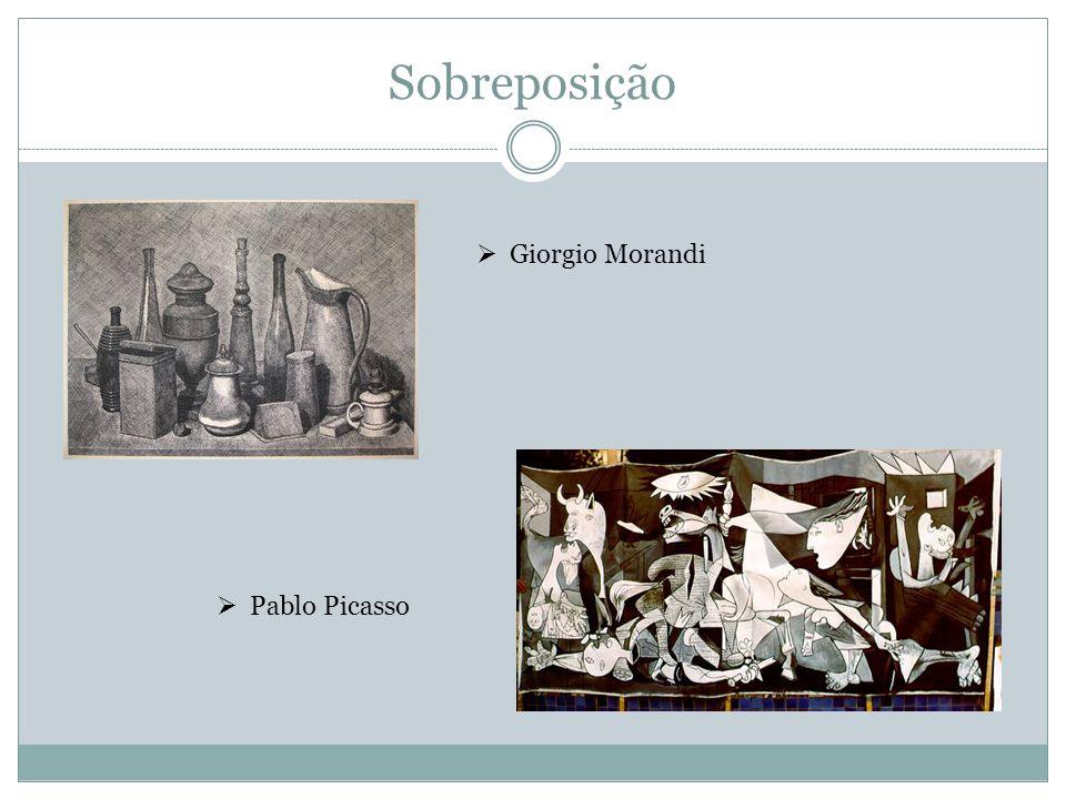 Sobreposição Giorgio Morandi Pablo Picasso