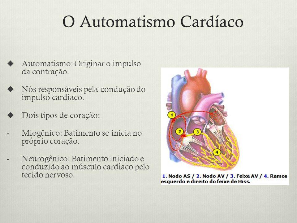 O Automatismo Cardíaco