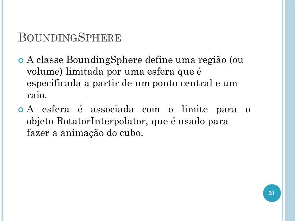 BoundingSphere