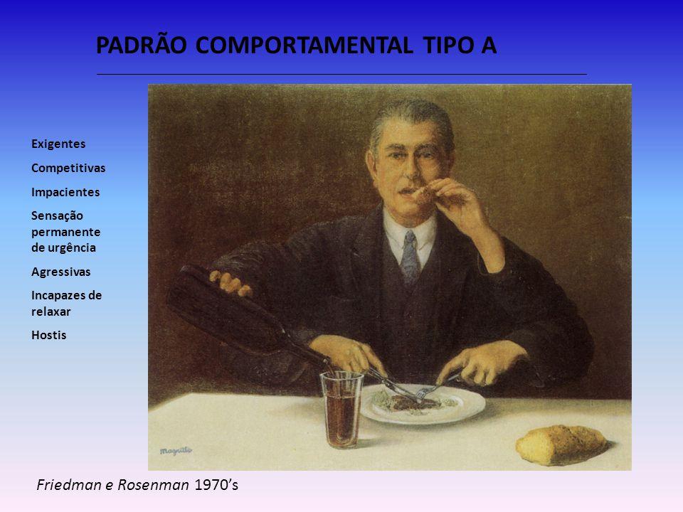 PADRÃO COMPORTAMENTAL TIPO A