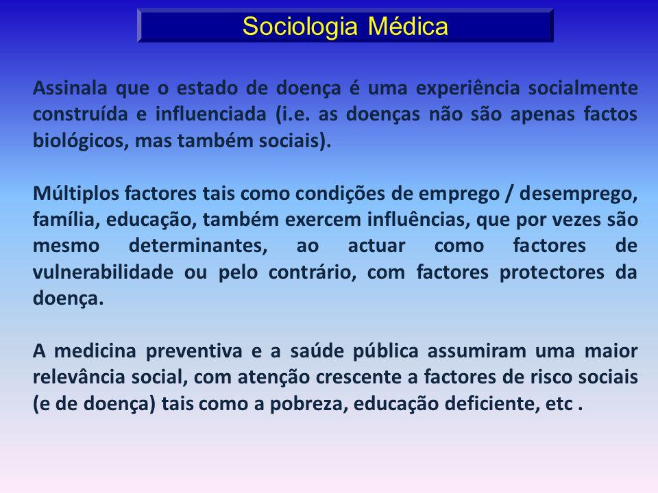 Sociologia Médica