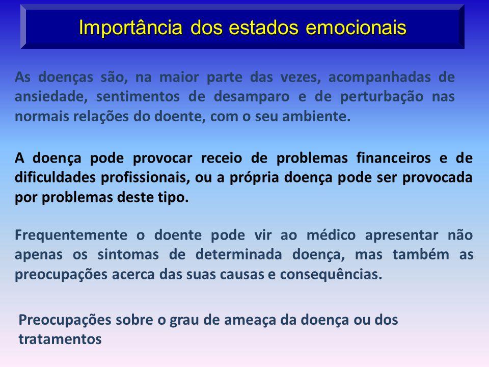 Importância dos estados emocionais