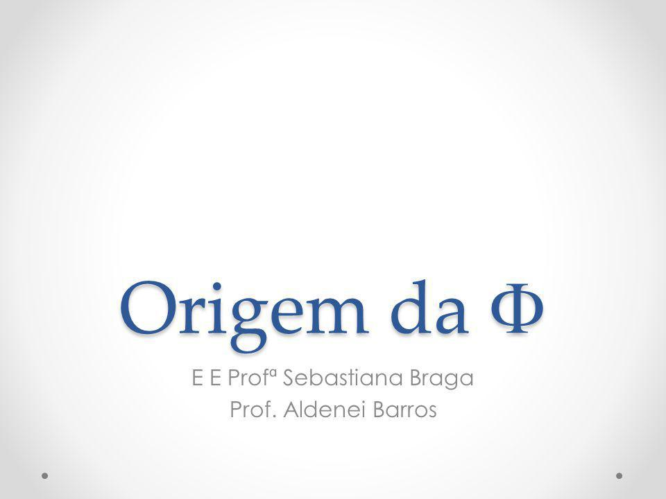 E E Profª Sebastiana Braga Prof. Aldenei Barros