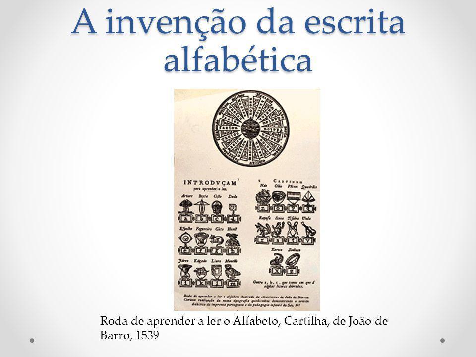 A invenção da escrita alfabética